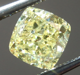 SOLD....Loose Yellow Diamond: 1.00ct Fancy Yellow I1 Cushion Cut Diamond GIA R6562