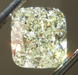 SOLD...Loose Yellow Diamond: 2.10ct U-V VS1 Cushion Cut Diamond GIA R6561