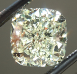 SOLD...Loose Yellow Diamond: 1.68ct Y-Z VVS2 Cushion Cut Diamond GIA R6566
