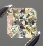 SOLD.......Loose Diamond: .28ct Fancy Light Yellow Square Brilliant diamond IF GIA R6593