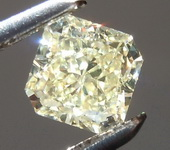 SOLD...0.50ct Y-Z Internally Flawless Radiant Diamond GIA R6595