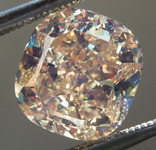 SOLD... Loose Diamond: 2.44ct Fancy Brownish Yellow SI2 Cushion Cut Diamond GIA R6650