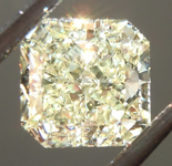 Loose Yellow Diamond: 1.01ct Fancy Light Yellow SI1 Radiant Cut Diamond GIA R6642