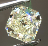 SOLD.....Loose Yellow Diamond: 1.08ct Y-Z VVS2 Radiant Cut Diamond GIA R6647