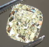 SOLD.....Loose Yellow Diamond: 1.05ct W-X SI1 Cushion Cut Diamond GIA R6648
