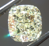 SOLD....Loose Yellow Diamond: 1.15ct Y-Z VS2 Cushion Cut Diamond GIA R6668