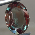 SOLD.....Loose Alexandrite: 2.33ct Oval Brilliant Natural Alexandrite R6701