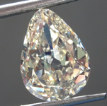 Loose Diamond: 3.15ct Fancy Light Brownish Yellow SI1 Pear Modified Brilliant Diamond GIA R6720