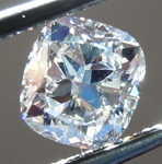 SOLD...Loose Colorless Diamond: .50ct J VS2 Cushion Cut Diamond GIA R6695