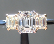 0.77ct G VS1 Emerald Cut Diamond Ring R6536