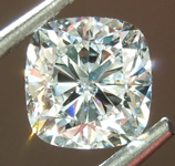 SOLD... 1.00ct E I1 Cushion Modified Brilliant Diamond GIA R6743