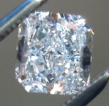SOLD.......Loose Blue Diamond: .57ct Fancy Light Blue IF Radiant Cut Diamond GIA R6757