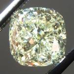 SOLD.....Yellow Diamond Halo Ring: 2.00ct Y-Z VS2 Cushion Cut Diamond GIA R6774