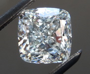 SOLD...Loose Colorless Diamond: 1.20ct F SI1 Cushion Cut Diamond GIA R6817