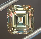 SOLD.......Loose Diamond: .91ct Fancy Brown-Greenish Yellow SI1 Emerald Cut Diamond GIA R6843