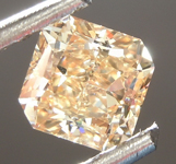 SOLD....Loose Diamond: .61ct Fancy Brown Yellow VS1 Radiant Cut Diamond GIA R6849