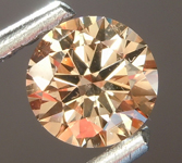 SOLD........Loose Brown Diamond: .59ct Fancy Dark Brown SI2 Round Brilliant Diamond GIA R6850