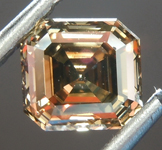 SOLD......Loose Brown Diamond: 1.05ct Fancy Dark Yellowish Brown VS2 Asscher Cut Diamond GIA R6853