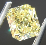 SOLD.....Loose Yellow Diamond: 1.01ct Fancy Intense Yellow SI1 Radiant Cut Diamond GIA R6902