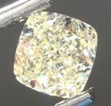 SOLD....Loose Yellow Diamond: .50ct Fancy Yellow Internally Flawless Cushion Cut Diamond GIA R6868