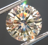 Loose Brown Diamond: 2.08ct Y-Z, Light Brown VS2 Round Brilliant Diamond GIA R6925