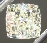 SOLD........Loose Yellow Diamond: 1.02ct U-V Internally Flawless Cushion Cut Diamond GIA R6916