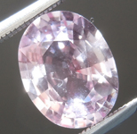 2.01ct Baby Pink Oval Sapphire R7032