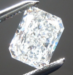 Loose Colorless Diamond: .91ct G SI1 Radiant Cut Diamond GIA R6802