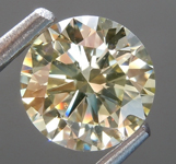 Loose Yellow Diamond: 1.02ct W-X SI1 Round Brilliant Diamond GIA R7033