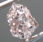 SOLD.......Loose Diamond: .99ct Fancy Light Pinkish Brown SI2 Kite Diamond GIA R7034