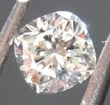 Loose Colorless Diamond: .31ct J VVS2 Cushion Cut Diamond GIA R6824
