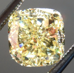 SOLD.....Loose Yellow Diamond: 1.94ct Fancy Intense Yellow VS1 Cushion Modified Brilliant Diamond GIA R7060
