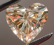 SOLD....Loose Brown Diamond: 2.04ct Fancy Yellowish Brown Heart Shape Diamond GIA R7058