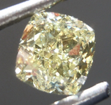 SOLD.........Loose Yellow Diamond: .50ct Fancy Light Yellow VVS1 Radiant Cut Diamond GIA R6901
