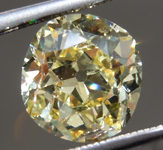 Loose Yellow Diamond: 2.05ct Fancy Yellow VVS2 Old Mine Brilliant Diamond GIA R7110