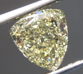 SOLD...Loose Yellow Diamond: 1.50ct Fancy Yellow SI2 Trilliant Diamond GIA R7115