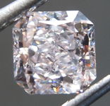 Loose Pink Diamond: .87ct Very Light Pink IF Radiant Cut Diamond GIA R7130