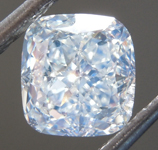 SOLD....Loose Green Diamond: 1.52ct Faint Green VS1 Cushion Modified Brilliant Diamond GIA R7149