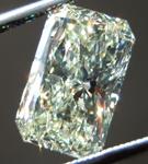 Loose Yellow Diamond: 2.05ct W-X SI1 Radiant Cut Diamond GIA R7162