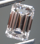 SOLD....Loose Pink Diamond: 1.01ct Very Light Pink VVS2 Emerald Cut Diamond GIA R7123