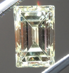 Loose Yellow Diamond: 1.32ct W-X VS2 Emerald Cut Diamond GIA R7156