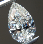 .Loose Colorless Diamond: 1.01ct J I1 Pear Brilliant Diamond GIA R7175