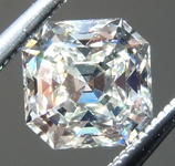 SOLD...  .98ct K VS1 Octavia Asscher Cut Diamond GIA R7228