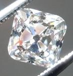 Loose Colorless Diamonds: .80ct I VS2 Old Mine Brilliant (Peruzzi) Diamond GIA R7231