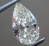 SOLD.....Loose Colorless Diamond: 1.17ct K SI1 Pear Brilliant Diamond GIA R7224