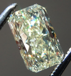 Loose Yellow Diamond: .99ct Fancy Yellow SI2 Radiant Cut Diamond GIA R7289