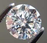 SOLD....Loose Colorless Diamond: 1.01ct G I1 Round Brilliant Diamond GIA R7225