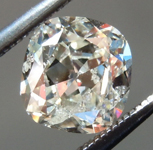 Loose Colorless Diamond: 1.02ct J I1 Cushion Brilliant Diamond AGS R7304