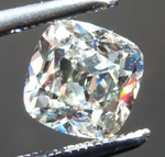 SOLD.....Loose Colorless Diamond: 1.00ct K VS2 Cushion Cut Diamond GIA R7303