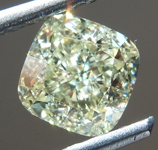 SOLD.......Loose Yellow Diamond: 1.19ct Y-Z VS2 Cushion Cut Diamond GIA R7336